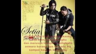 setia band-asmara(with lyric)
