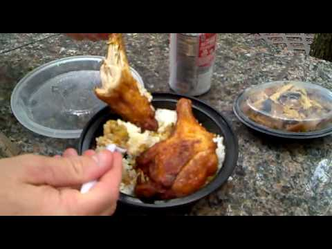 Chicken And Rice At Nyc Craving Food Truck Youtube
