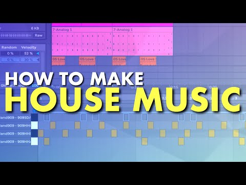 How To Make House Music | Ableton Live Music Production Tutorial With Lewis Beck