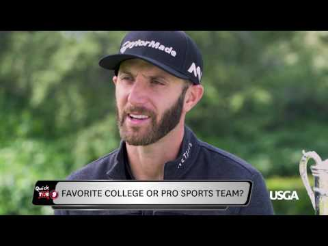 THE 9: Quick 9 with Dustin Johnson