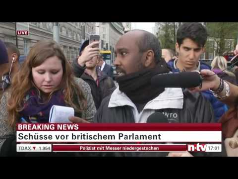 Anschlag in London am 22.3.2017 Live reportage NTV