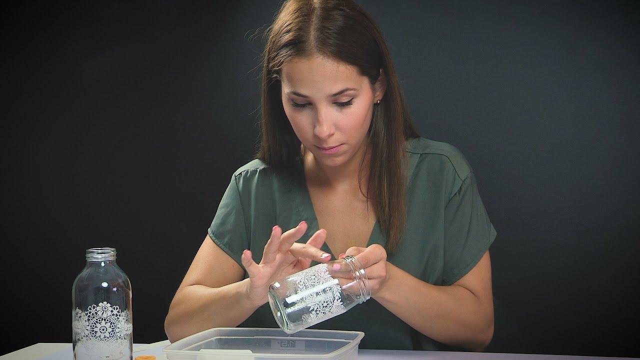 e9a38aa212 Díszítő Transzfer technika üvegre - Renomé - YouTube