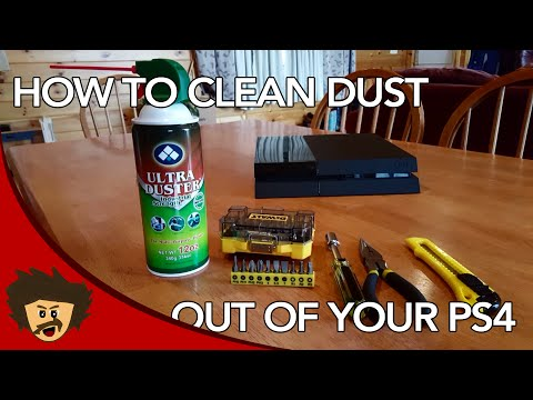 How to Properly Clean Dust Out of a PS4