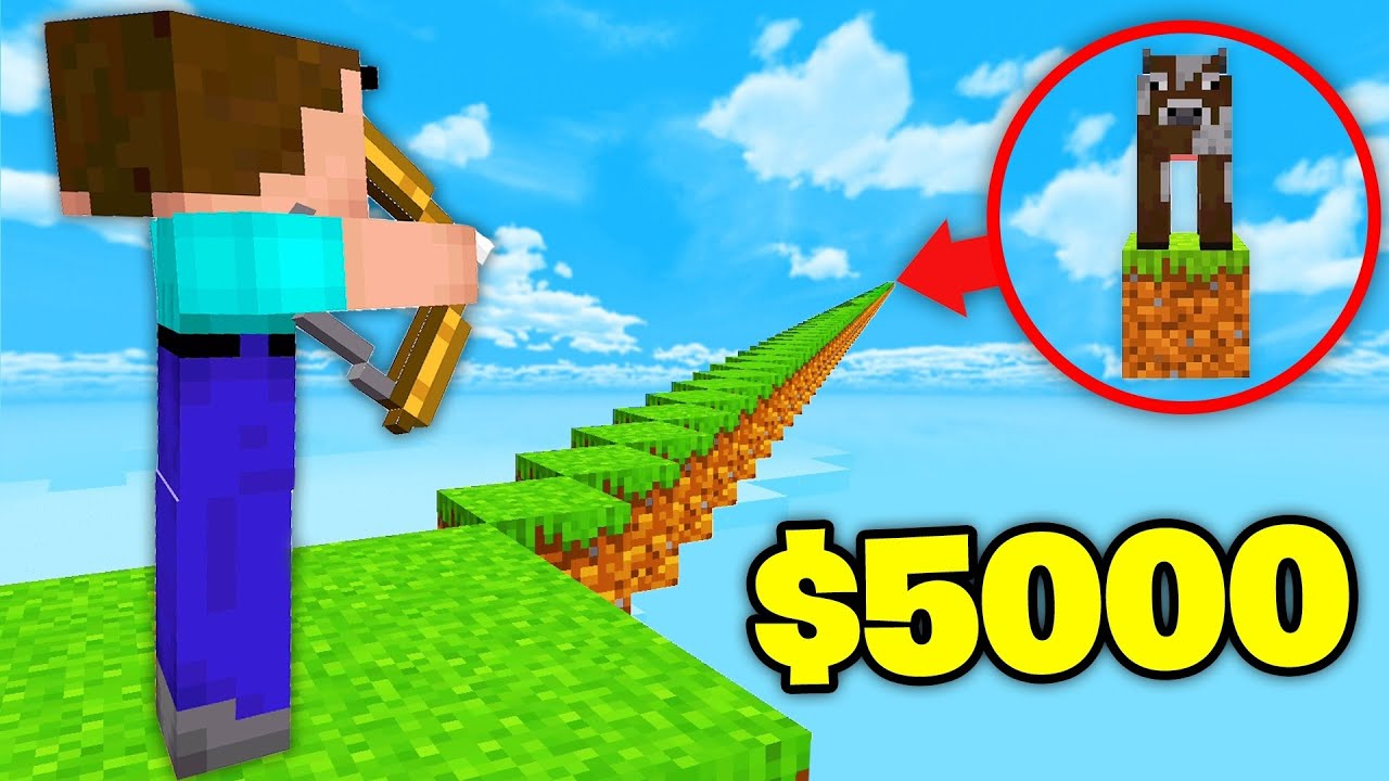 Kill This Cow, Win $5,000 (Minecraft)