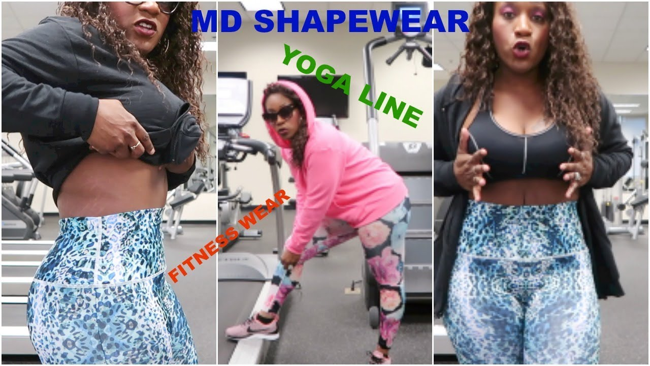 8851595762 MD Shapewear Yoga and workout gear - YouTube
