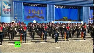 """Обалденно подобранная песня в конце Парада Победы! """"Мы - армия страны"""""""
