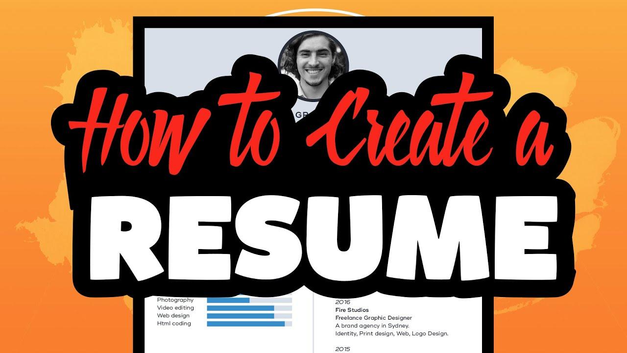 create a simple resume in illustrator cc