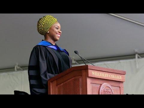 Chimamanda Ngozi Adichie: 2015 Wellesley College Commencement Speaker