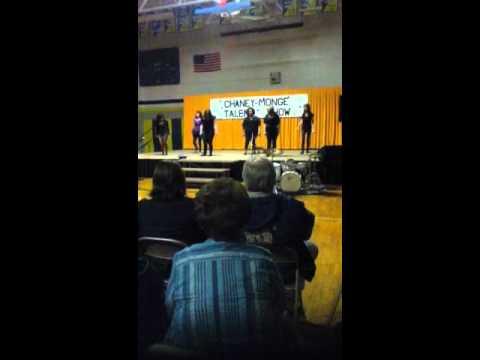 Chaney monge school dance group talent show.