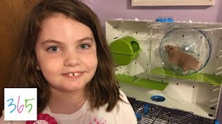 GETTING MY FIRST HAMSTER! 🐹   KIDS LIFE 365   5.12.19