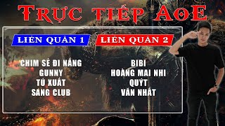 🔴Trực tiếp AoE 4vs4 Random | Chim Sẻ + Sài Gòn vs Bibi + Hà Nam | Ngày 02/07/2019