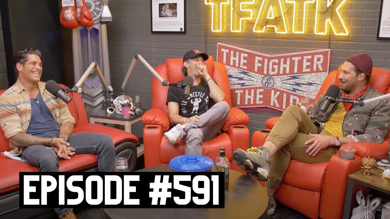 The Fighter and The Kid - Episode 591: Josh Wolf and Mike Catherwood
