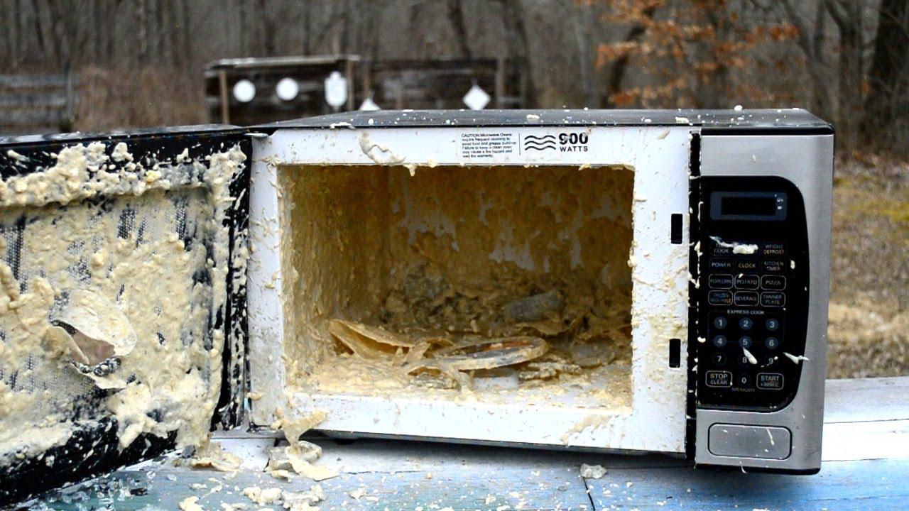 Dirty Microwave - YouTube