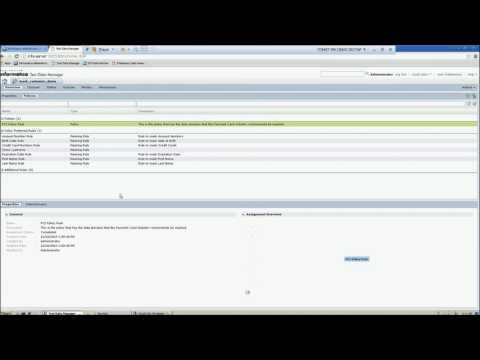 Informatica Test Data Management – Demo