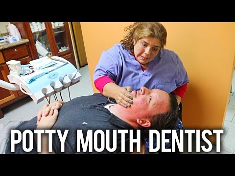 SHE SAID WHAT?!?! Dentist in Developing Country