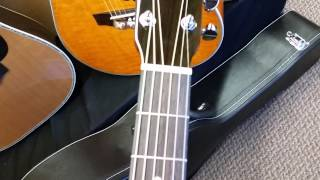 Zager ZAD20EVS Acoustic Electric Vintage Sunburst finish 2015 guitar walkaround