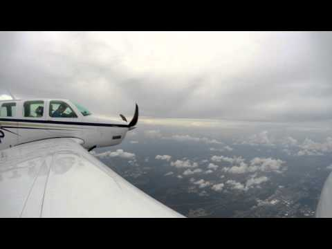 Flying Timelapse: Cayman Islands to Delaware