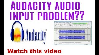 ##Error in Audacity while audio importing??::-[solved  in hindi] by ghosh tech