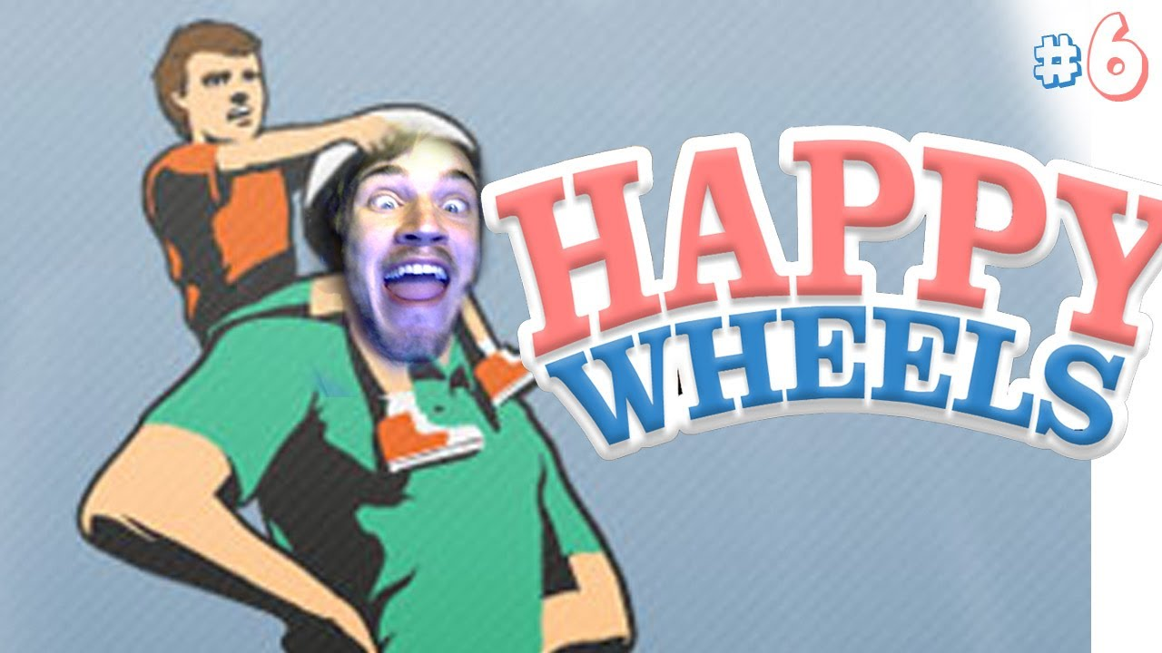 Image result for pewdiepie happy wheels