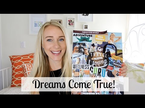 MY VISION BOARD: HOW TO & SUCCESSFUL RESULTS!