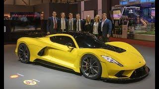 Hennessey Venom F5 at the 2018 Geneva Motor Show