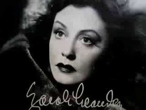 Zarah Leander | Zarah Leander (1907-1981) was a Swedish ...  |Zarah Leander Live 1973