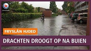 REPO: Drachten droogt op na extreme wateroverlast