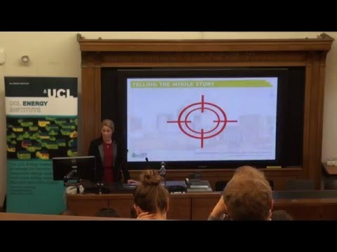 UCL-Energy seminar: 'Energy efficiency in non-domestic buildings: Are we on target for 2050?'