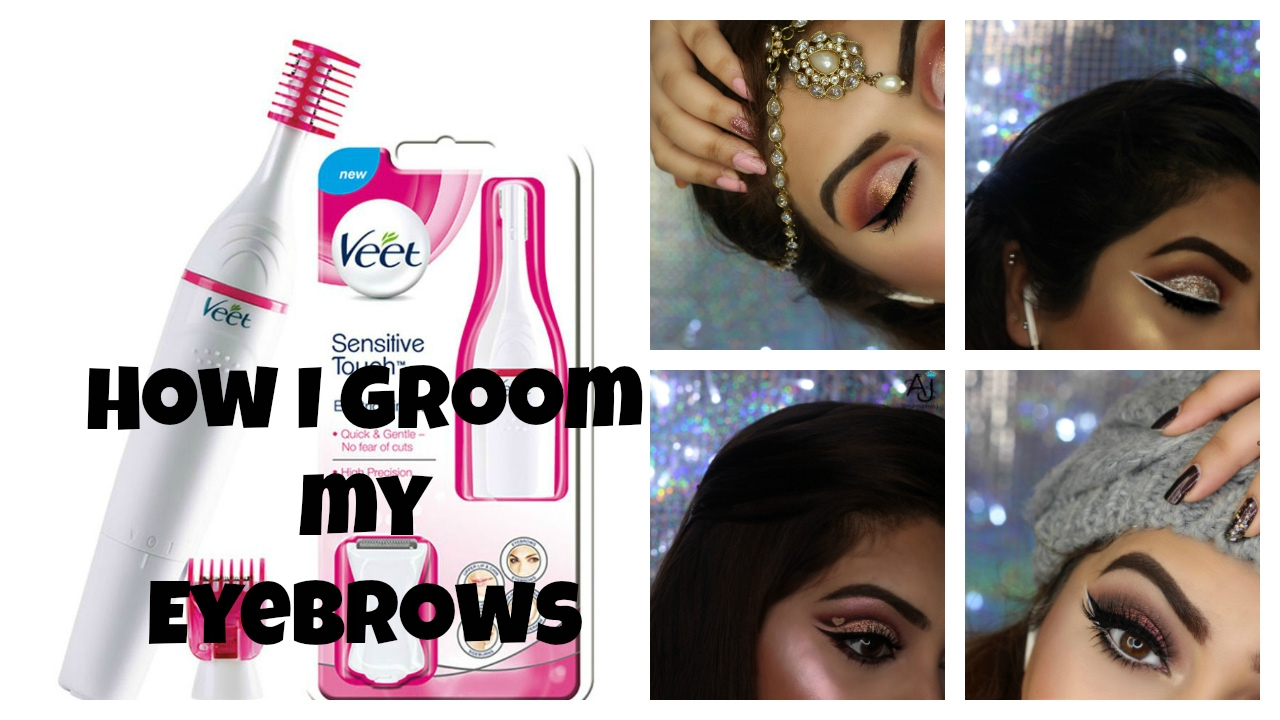 a35ea41c5 Veet Sensitive Precision Beauty Styler Trimmer Review / How I Shape Groom  My Eyebrows For Begginers