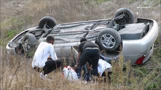 SR-125 Freeway Solo-Vehicle Crash In Lemon Grove 12/3/2017