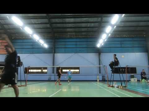 Badminton 2018 Dual meet ACN vs Globe Game 5 (part2)