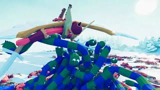 Ninja Snakes eat Viking Faction - TABS MODS Unit Possession Update