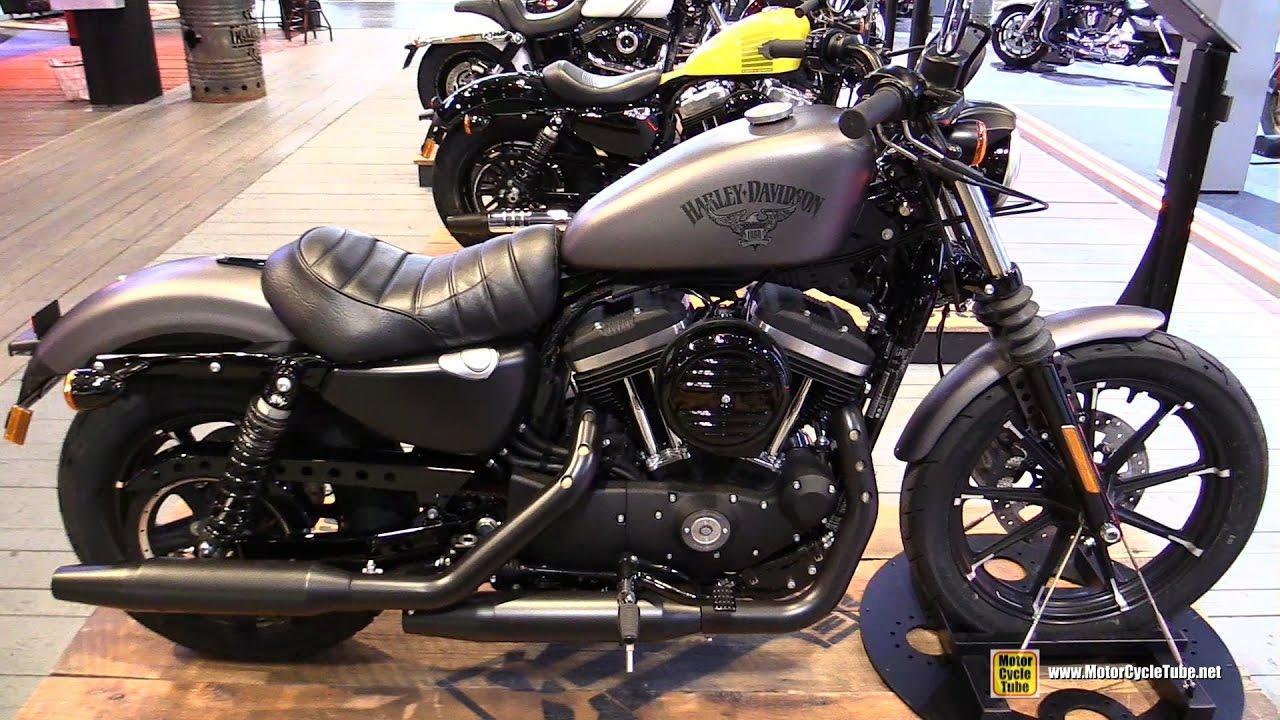 2017 Harley Davidson Iron 883 Dark Custom Walkaround 2016 Eicma Milan You