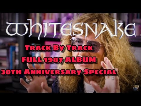 David Coverdale Interview 2017/2018 - Track By Track | 1987 30th Anniversary SUPER Special