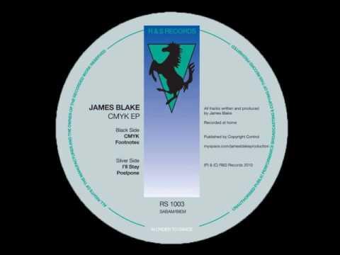 James Blake - CMYK EP (Full EP)
