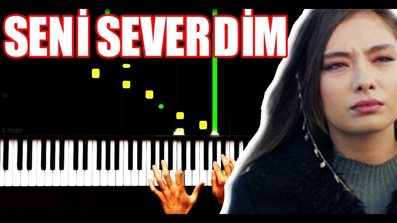 Seni Severdim Piano By Vn Youtube