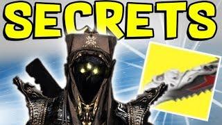 Destiny 2 - strange giant sword & new speaker?! tower secret, ahamkara, & dlc content
