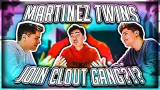 MARTINEZ TWINS JOIN CLOUT GANG (ex Team 10 Members) thumbnail