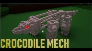 *TUTORIAL*🐊 How To Make An ADVANCED ANIMAL MECH! (CROCODILE)🐊| Roblox Build a Boat for Treasure