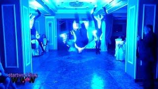 Световое шоу обалдеть :) Прокачали свадьбу