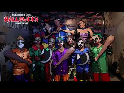 Sky Gardens 7th Annual Halloween Party - 31st October 2015