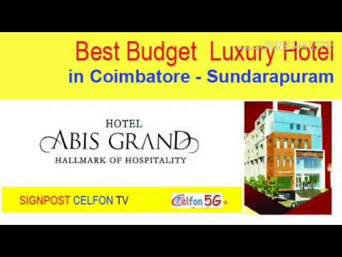 Best Budget Luxury Hotels In Coimbatore – Hotel Abis Grand