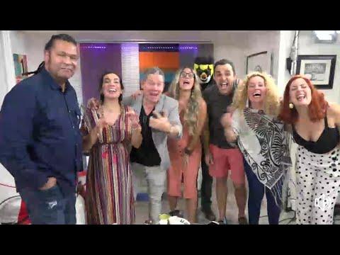 Claudia Valdes Y Amaury Gutierrez En Casa De Maka! Una Descarga Diferente.