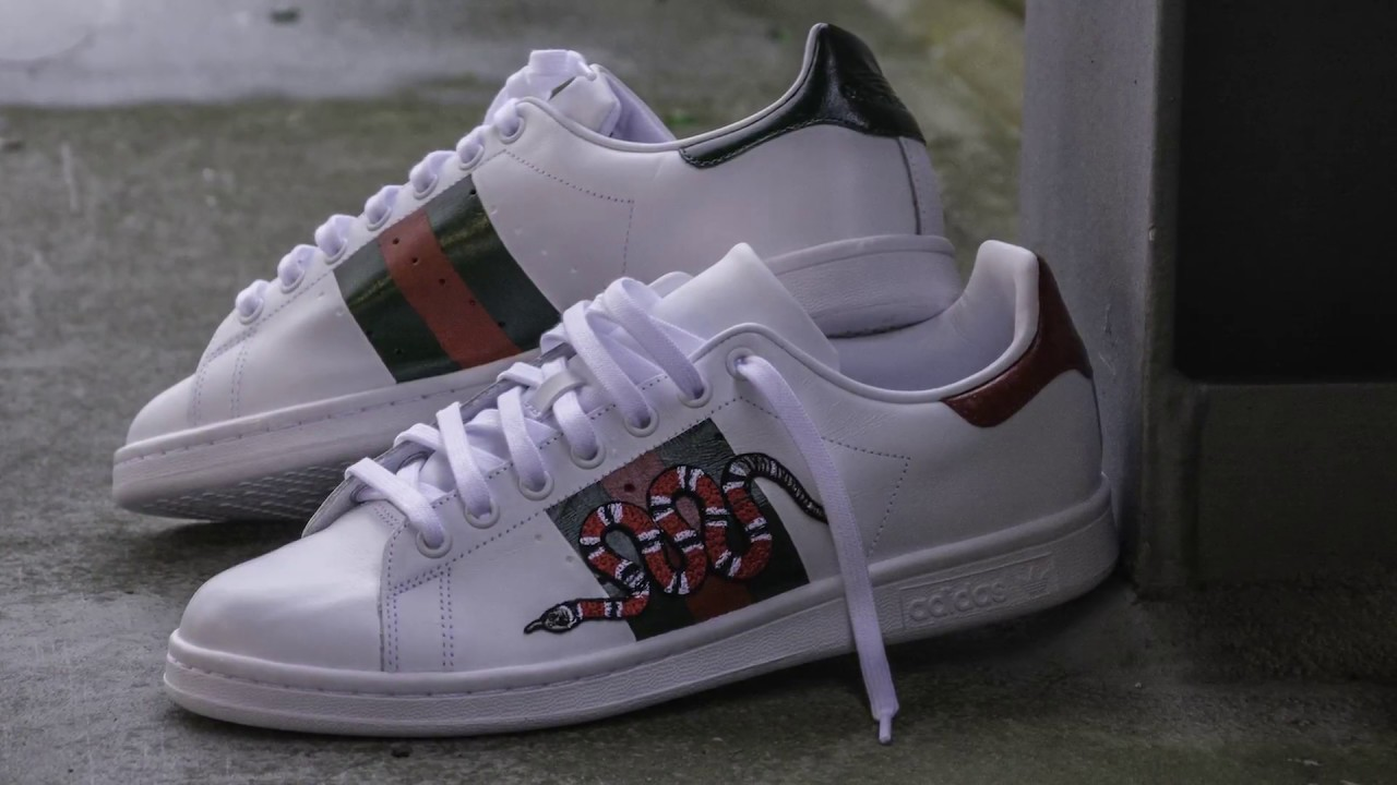 Diy Gucci Gucci x Adidas customized