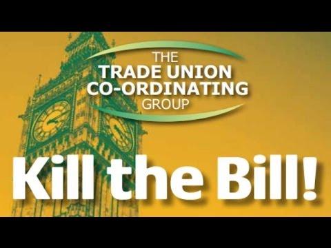 #KillTheBill - Trade Union Coordinating Group rally
