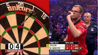 Phil Taylor v Mark Webster | Round Two | World Darts Championship 2015