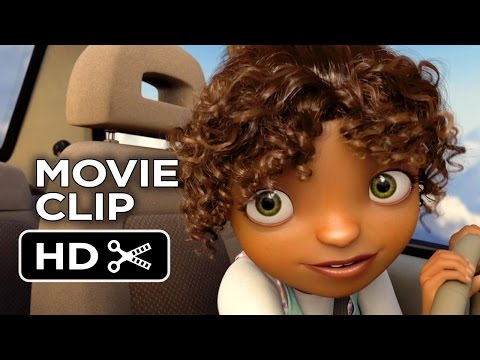 Home Movie CLIP - Joke (2015) - Rihanna, Jim Parsons Movie HD