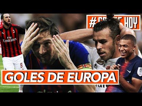 Messi salva al Barca I Goles de Europa I Resumen Jornada #goldehoy