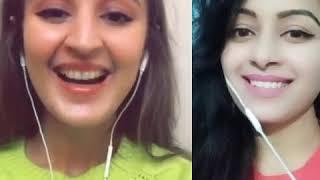 Vaaste  duet by Pooja with Dhvani Bhanushali..#starmker