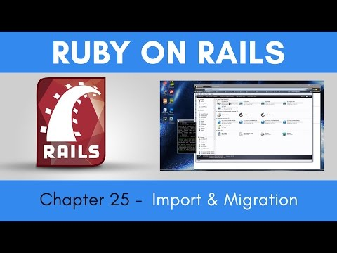 Learn Ruby on Rails from Scratch - Chapter 25 - Importing the Database and Migrations to Heroku